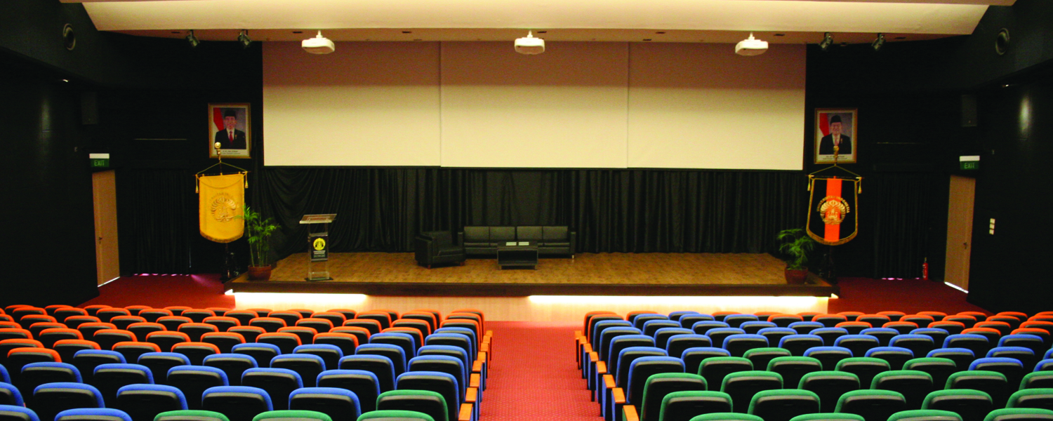 AUDITORIUM VOKASI UNIVERSITAS INDONESIA